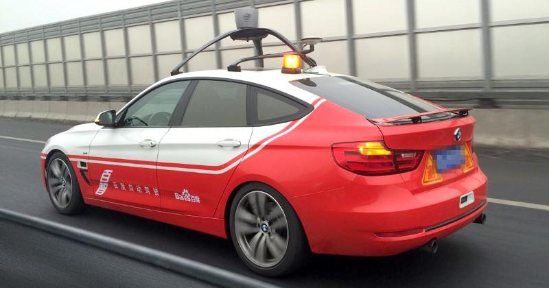 baidu self driving car