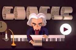 Doodle per Beethoven: oggi (o forse ieri) compie 245 anni