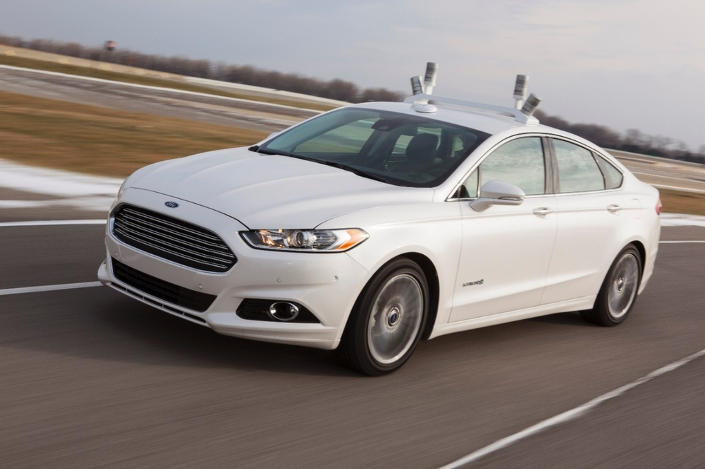 ford e google self driving car