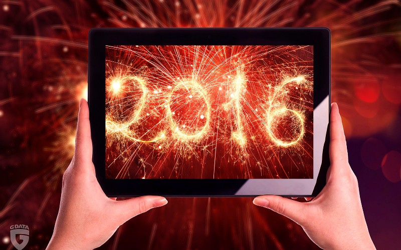 Buoni propositi per il 2016: sei consigli di G DATA per un nuovo anno in sicurezza