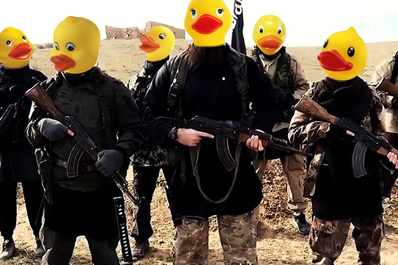 anonymous isis trolling day