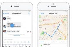 Uber si prenota anche con Messenger