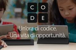 Torna l'Ora del Codice, Apple insegna a programmare