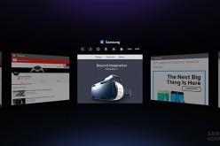 Samsung lancia Internet for Gear VR
