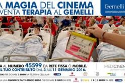 Cinematherapy, il cinema come terapia al Policlinico Gemelli di Roma