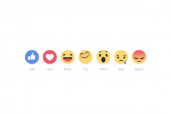 Le Reactions debuttano su Facebook