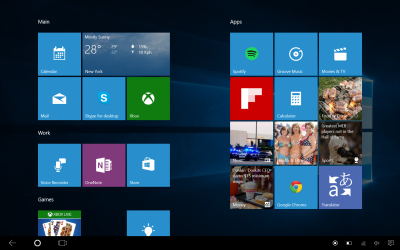 Windows 10: nuova build da Microsoft