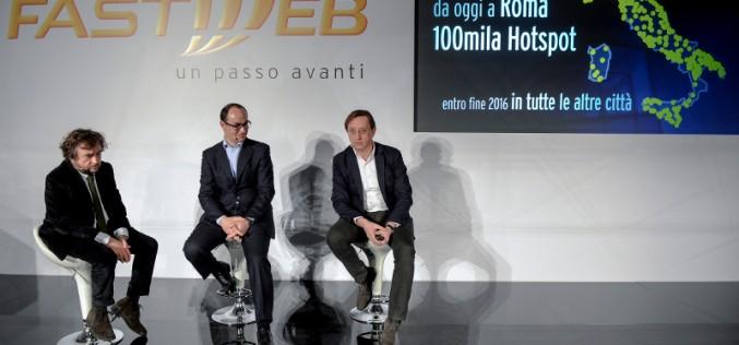 A Roma Fastweb raggiunge un milione di famiglie e imprese e lancia il servizio WOW FI
