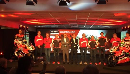 Aruba.it Racing Ducati presenta la Panigale R