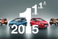 La Ford Fiesta è la compatta più venduta d'Europa anche nel 2015
