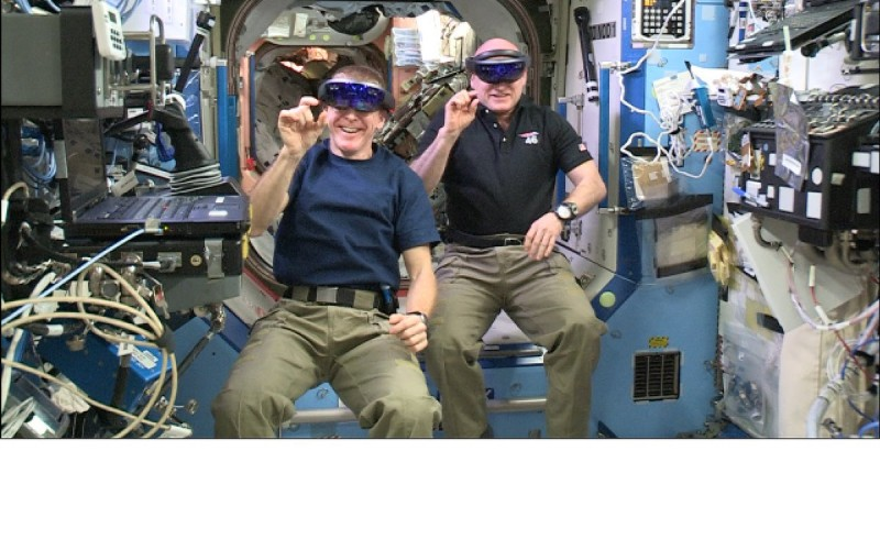 HoloLens in orbita con la NASA