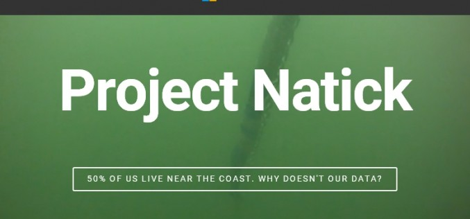 Project Natick, un data center sottomarino per Microsoft