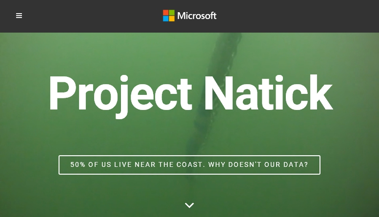 project natick data center mare microsoft