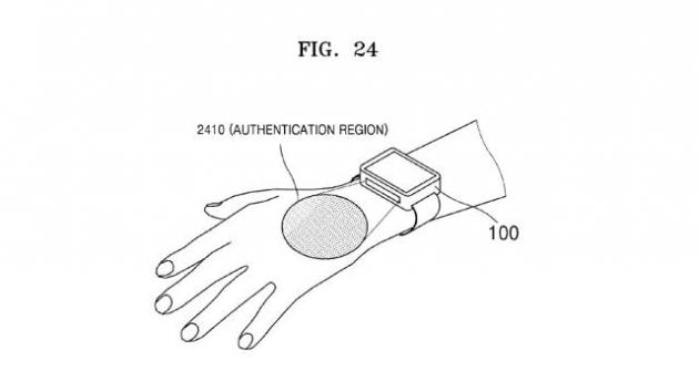 samsung smartwatch lettura delle vene