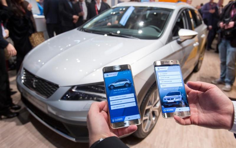 """SEAT, Samsung e SAP collaborano per creare la """"vettura connessa"""" del futuro"""