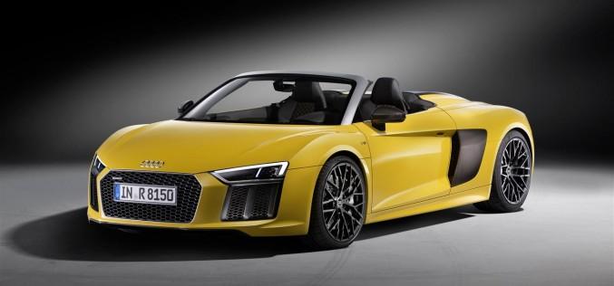 Audi R8 Spyder V10: al via la prevendita in Italia