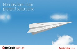 Consorzio Roma Ricerche e Unicredit presentano Unicredit Start Lab 2016