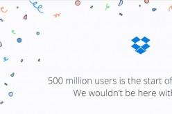 Dropbox supera i 500 milioni di utenti