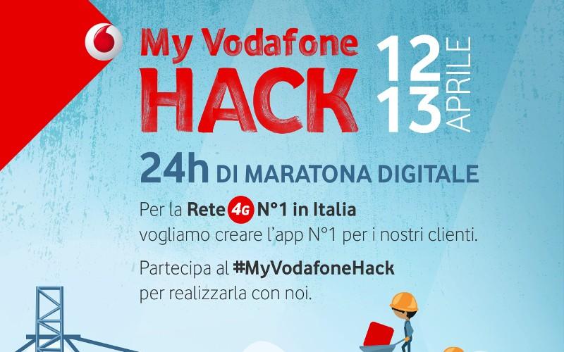 """""""My Vodafone Hack"""": al via le iscrizioni per l'hackathon sull'app My Vodafone"""
