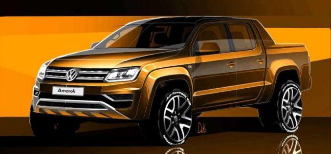 Il pick-up premium Amarok abbraccia il moderno design Volkswagen