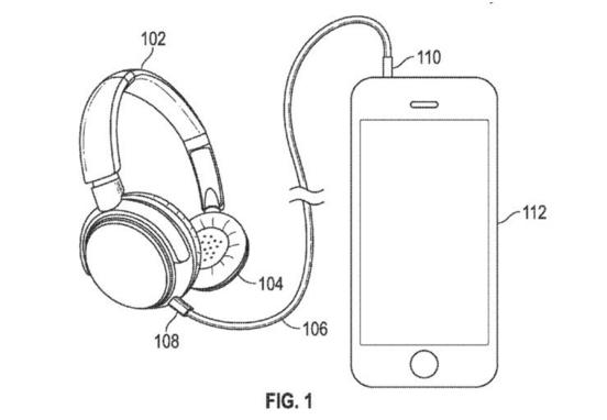 apple cuffie brevetto