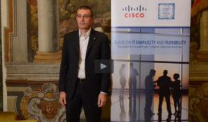 Videointervista ad Alberto Degradi, Architectural Leader - Cisco