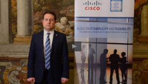 Videointervista ad Alessandro Frigerio, Partner Account Manager - Red Hat
