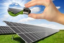 Pannelli solari che trasformano la pioggia in energia
