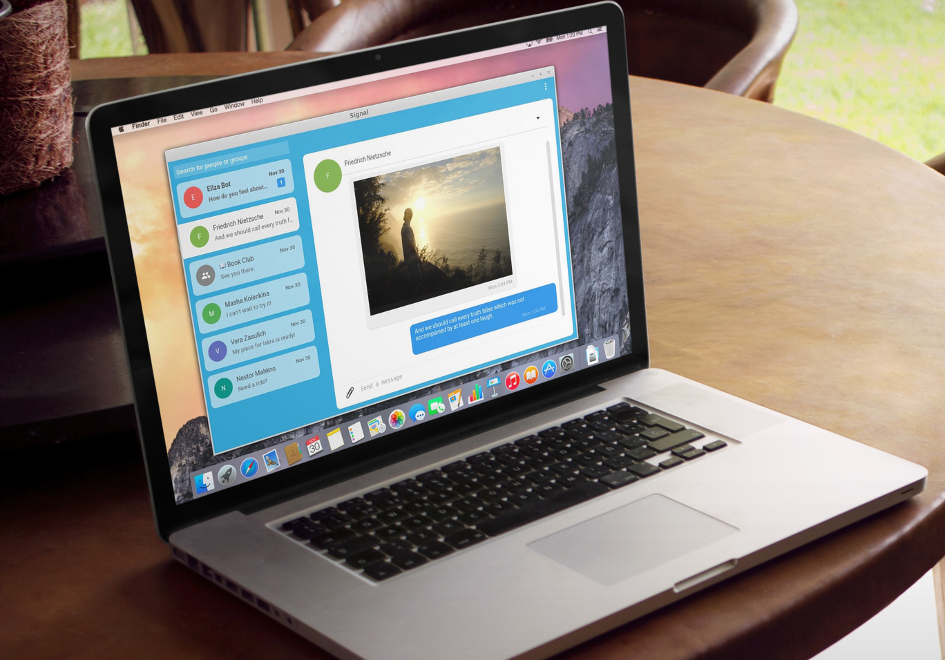 signal desktop chrome