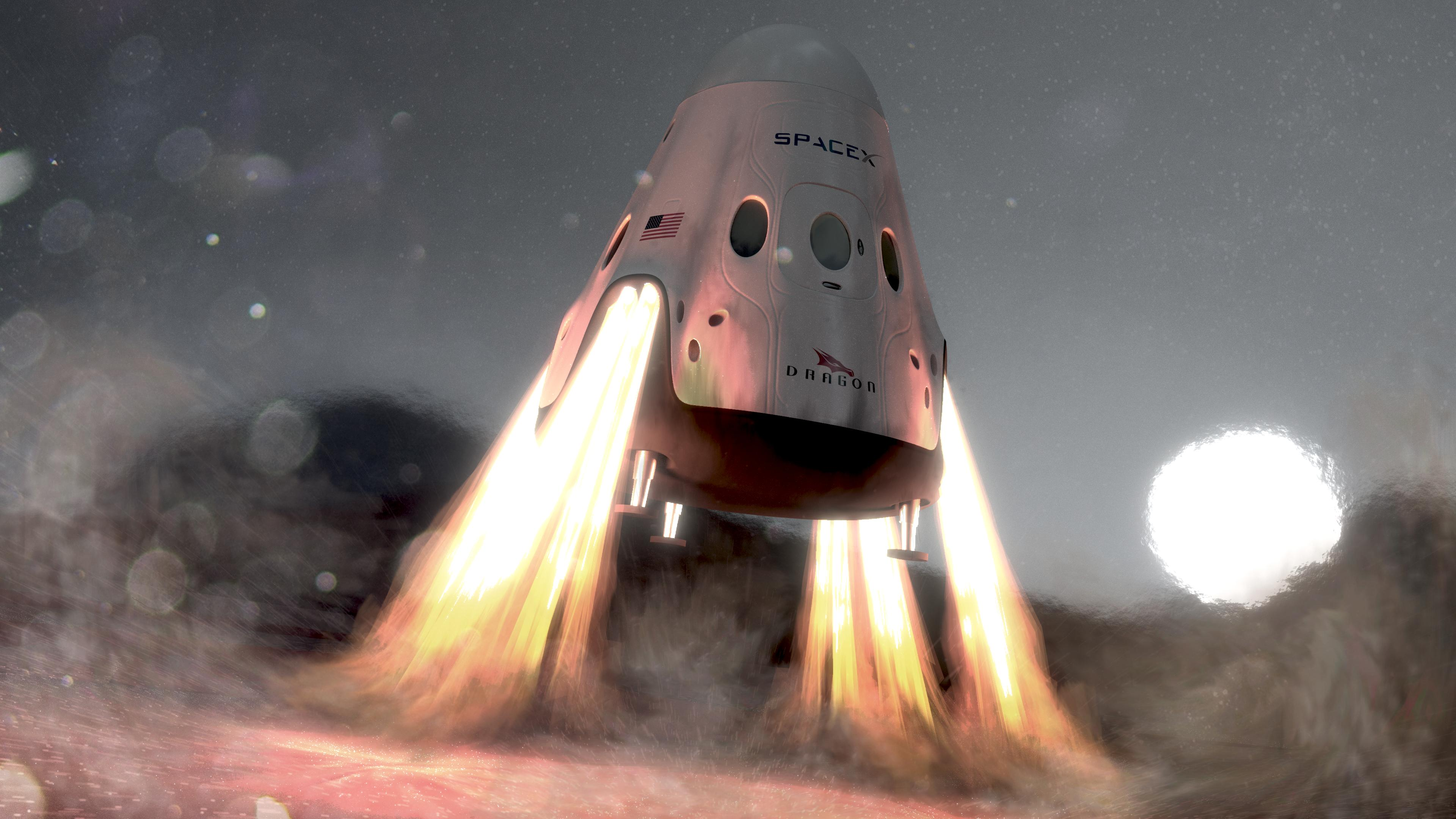 spacex marte