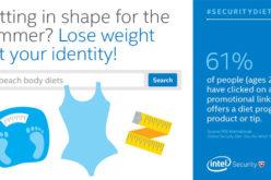 Intel Security rivela rischi di sicurezza delle ricerche sul web su fitness e prova costume