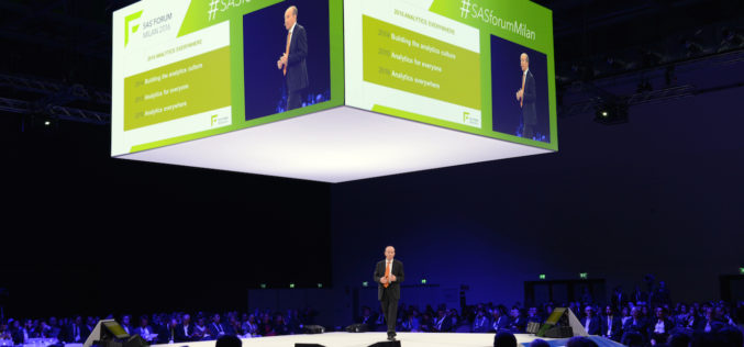 SAS Forum Milan, l'intelligenza per decidere