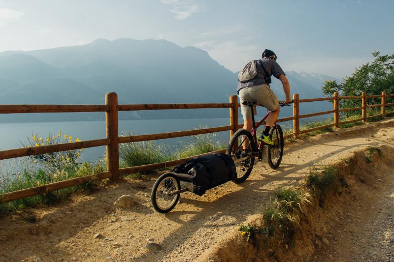 bike trolley sentier