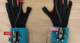 SignAloud, i guanti hi-tech che danno voce al linguaggio dei segni