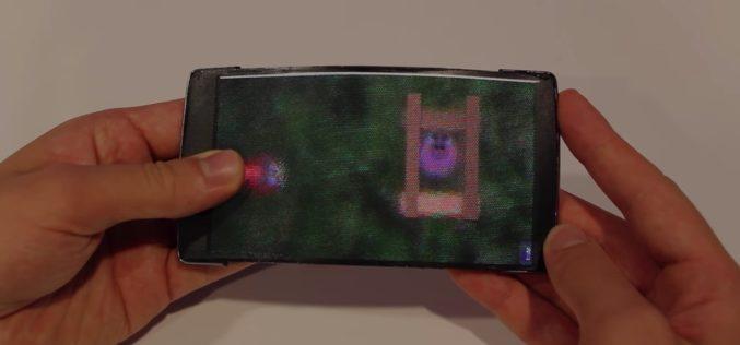 Flessibile e olografico: ecco lo smartphone del futuro
