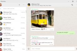 WhatsApp desktop debutta su Windows e Mac