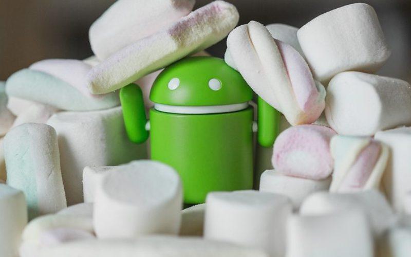 Marshmallow installato su più del 10% dei dispositivi Android