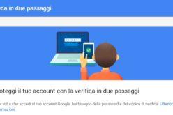 Google migliora la verifica in due passaggi