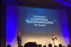 """Clouditalia vince il Premio Crescita Digitale con """"My Snooper"""""""