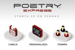 Poetry Express: stampa 3D on demand
