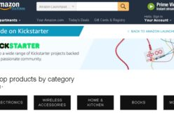 Su Amazon disponibili i progetti di Kickstarter