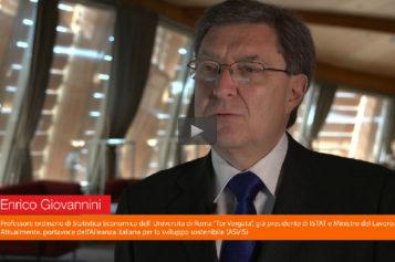 Video: Enrico Giovannini, portavoce dell'Alleanza italiana per lo sviluppo sostenibile (ASVIS)