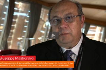 Video: Giuseppe Mastronardi, AICA