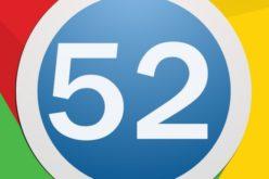 Google rilascia Chrome 52: ecco le novità