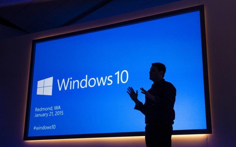 Windows 10 dà un taglio alla raccolta di dati