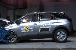 Crash-test Euro NCAP: 5 stelle per Mercedes – Benz Classe E e Peugeot 3008