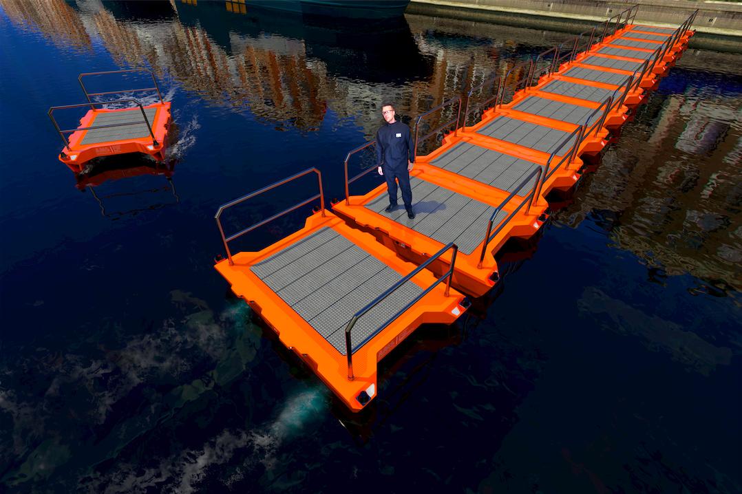 Ad Amsterdam le barche navigano senza pilota