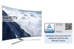 Gli Smart TV Samsung 2016 ottengono la certificazione di utilizzo da TÜV Rheinland