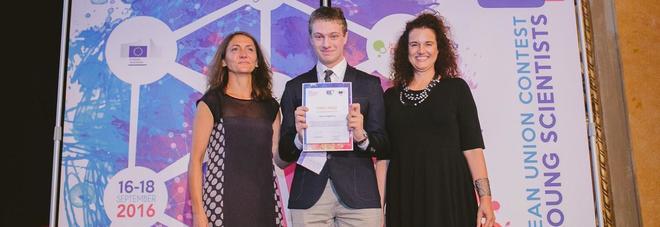 L'Oscar dei giovani scienziati va a un 16enne italiano