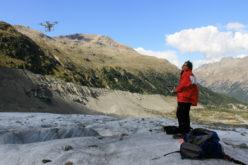 Quanto fonde il ghiacciaio? Risponde il drone